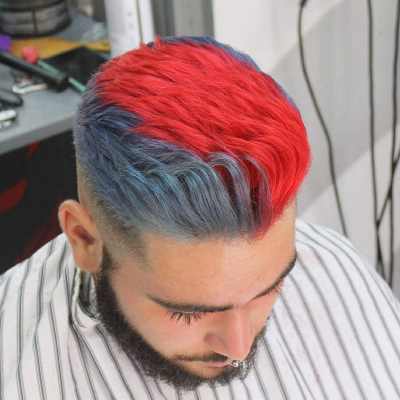 Male hair coloring stylish options2018-2019