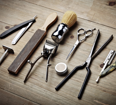 Barber shop equipment is an important element of the men's salon
