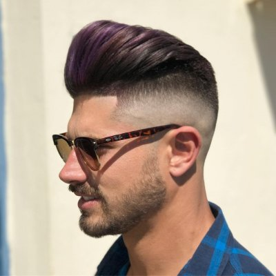 Men's haircut underker