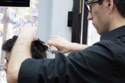 The Last Gentlemen's Barbershop - Messy Nessy Chic