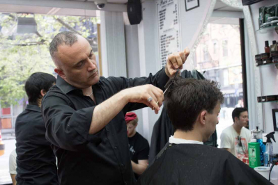 The Barber Shop Shave Follows Tradition