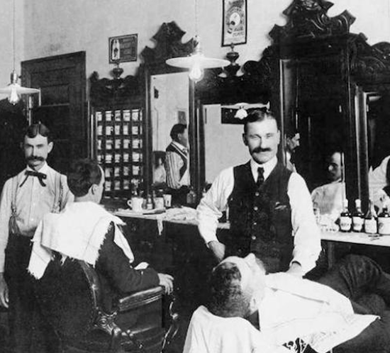 The barber history - from the distant 18th century to our days