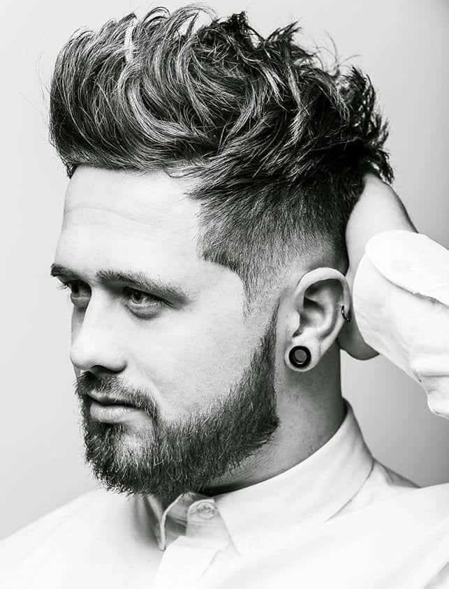 How To Pick Men S Hairstyle For Round Face